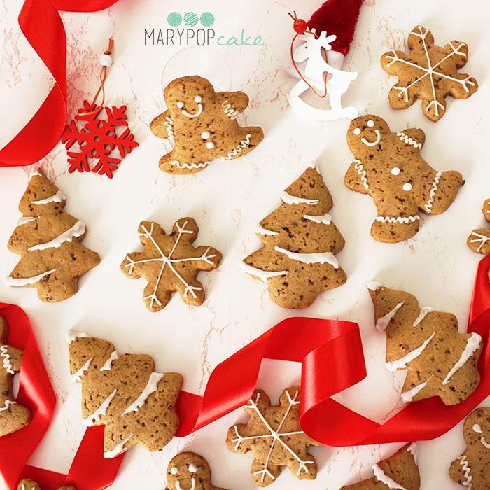 Biscotti di pan di zenzero - gingerbread