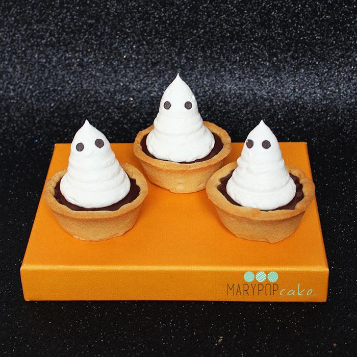 Dolcetto di halloween - tartellette fantasma