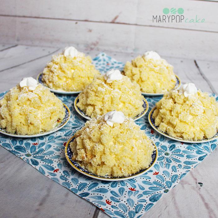 Torta mimosa monoporzione
