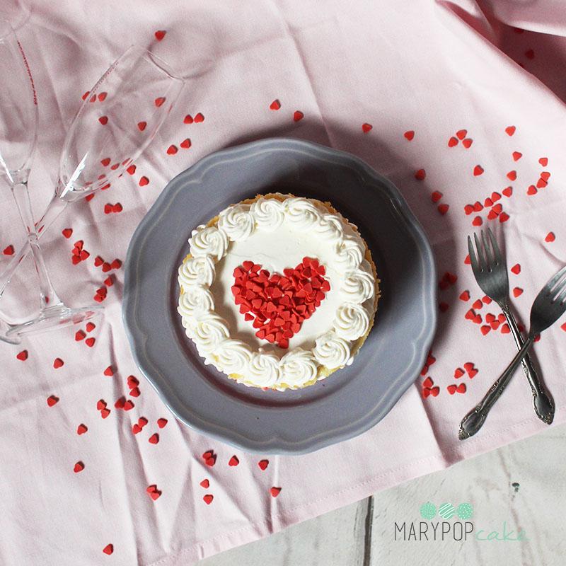 Torta cuore di san valentino