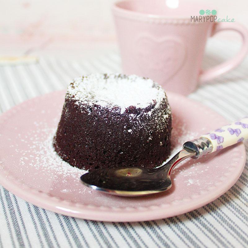 tortino al cioccolato cuore caldo